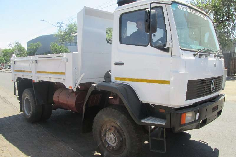 Truck Mercedes Benz Tipper 1617 1996