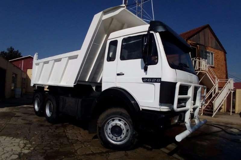 Truck Mercedes Benz Tipper 2626 1990