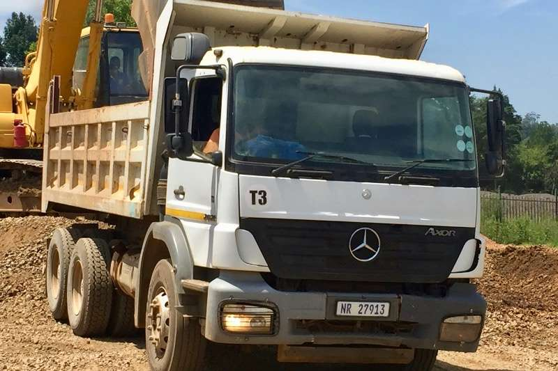 Mercedes Benz Tipper Axor 2628 Truck