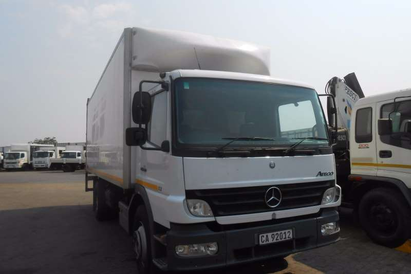Mercedes Benz Van body M/BENZ 1318 VAN BODY WITH TAIL LIFT Truck