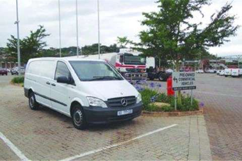 Truck Mercedes Benz Vito 113 CDI Panel van- 2013