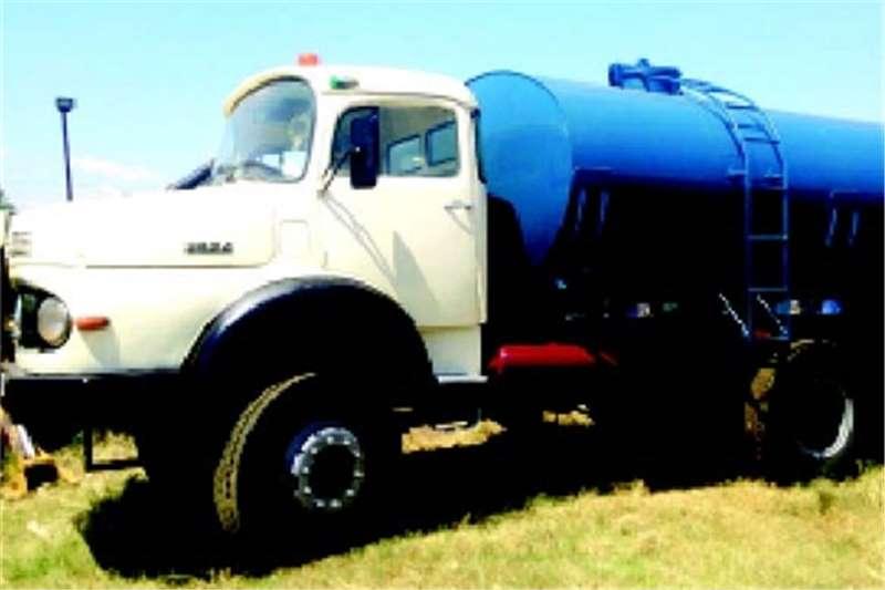 Truck Mercedes Benz Water Tanker 2624 Bullnose  1988