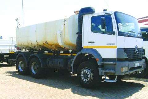 Truck Mercedes Benz Water Tanker 2628-Watertanker / Tanker 2005