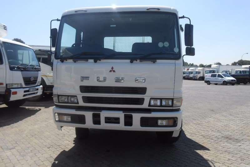 Mitsubishi Crane truck MITS FUSO 26-340 FLATDECK WITH PK18500 CRANE Truck