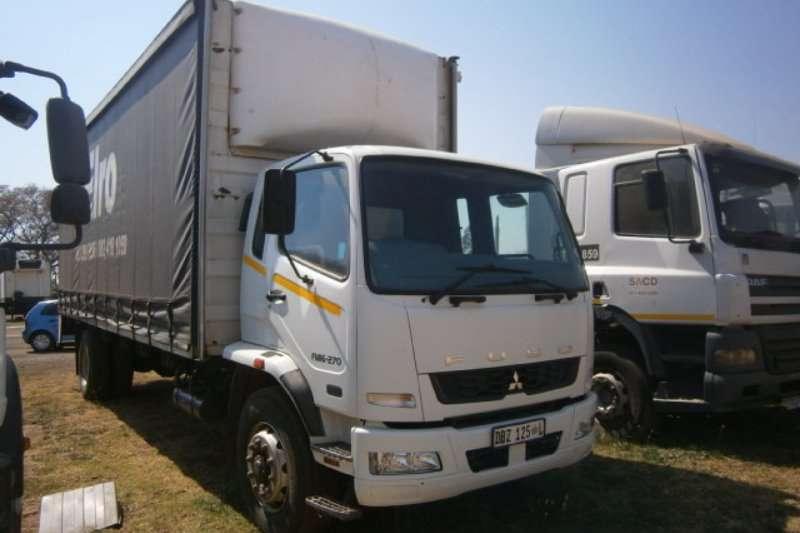 Mitsubishi Curtain side FUSO FM 16 270 Truck