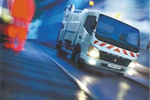 Truck Mitsubishi Fuso Canter FE 6-109 TD FC 2016