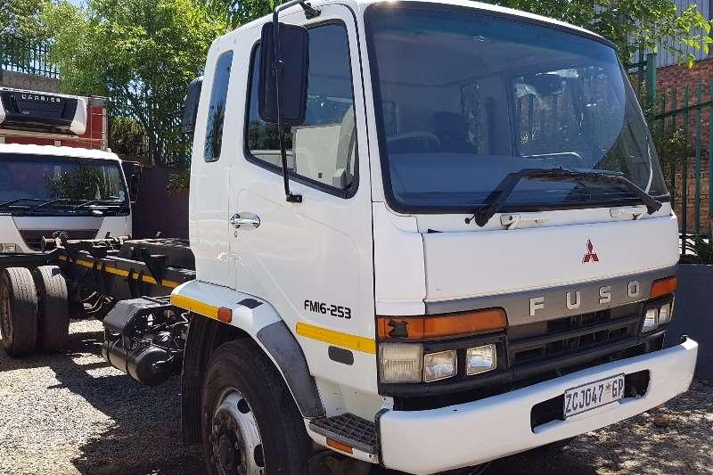 Mitsubishi Hooklift 16 253 Truck