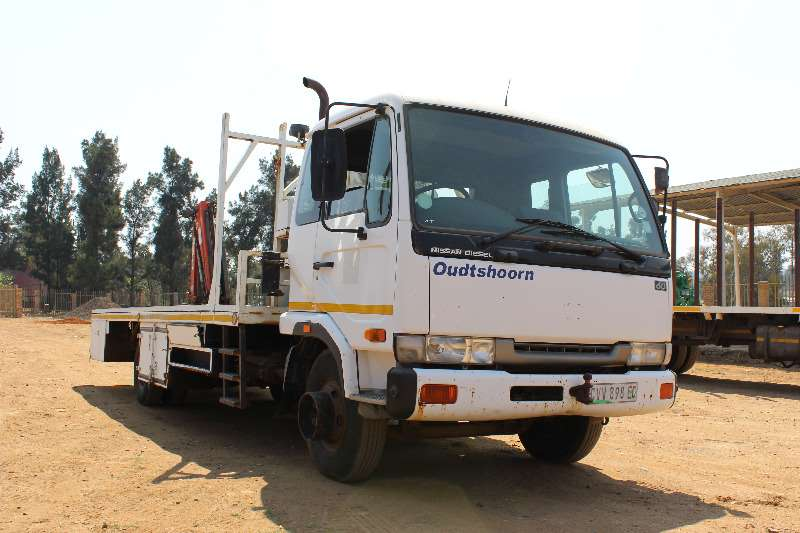 Truck Nissan Bobcat Nissan UD 60 Railway adaption with crane 0