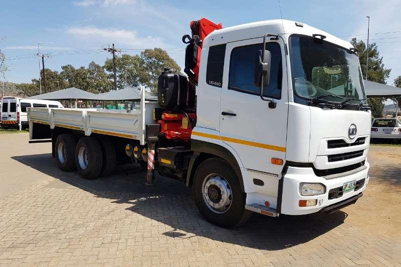 Truck Nissan Crane Truck UD460 2011