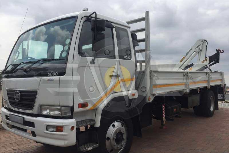 Truck Nissan Dropside UD90 Dropside fitted with 15ton Bonfiglioli Crane 2016