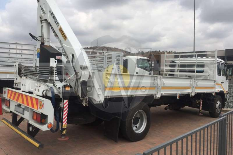 Nissan Dropside UD90 Dropside fitted with 15ton Bonfiglioli Crane Truck