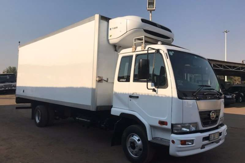 Nissan Fridge truck NISSAN UD60 FRIDGE BODY WITH THERMOKING UNIT Truck