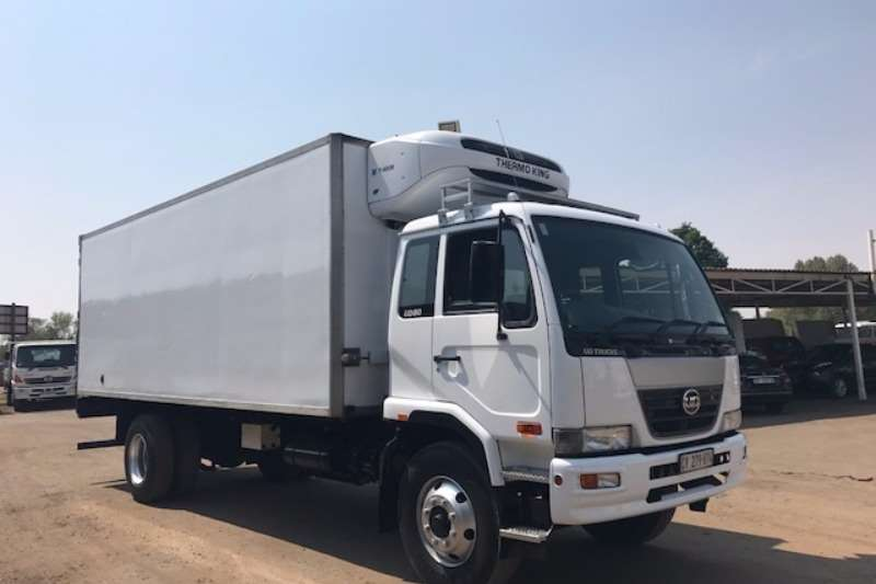 Nissan Fridge truck NISSAN UD80 FRIDGE BODY WITH THERMOKING UNIT Truck