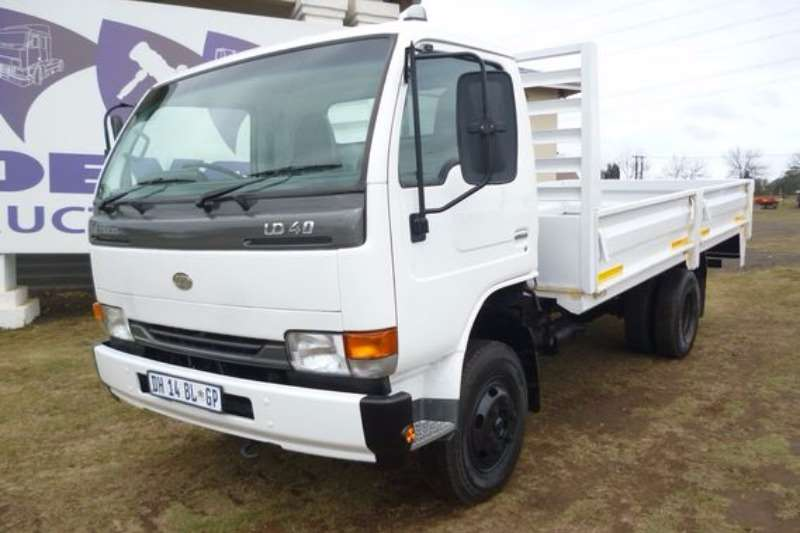 Truck Nissan UD40 With Dropside Body 2014