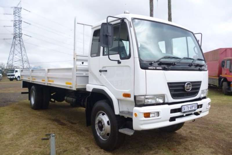 Truck Nissan UD80 With Dropside Body 2012