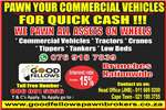 Truck Pawn Your Commercial Vehicle's For Quick Cash 2017