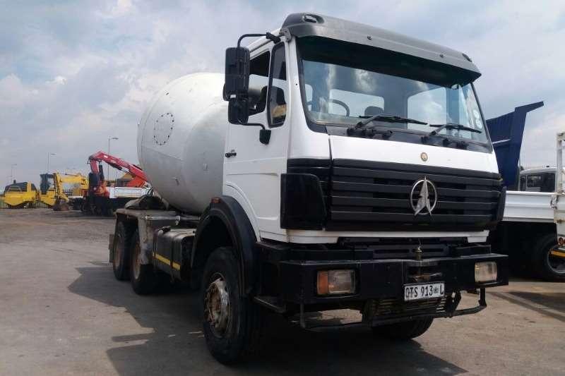 Powerstar Concrete mixer 6m3 mixer Truck