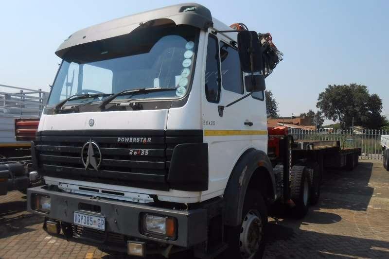 Powerstar Crane truck POWERSTAR 2835 6X4 T/T WITH PK23500 CRANE Truck