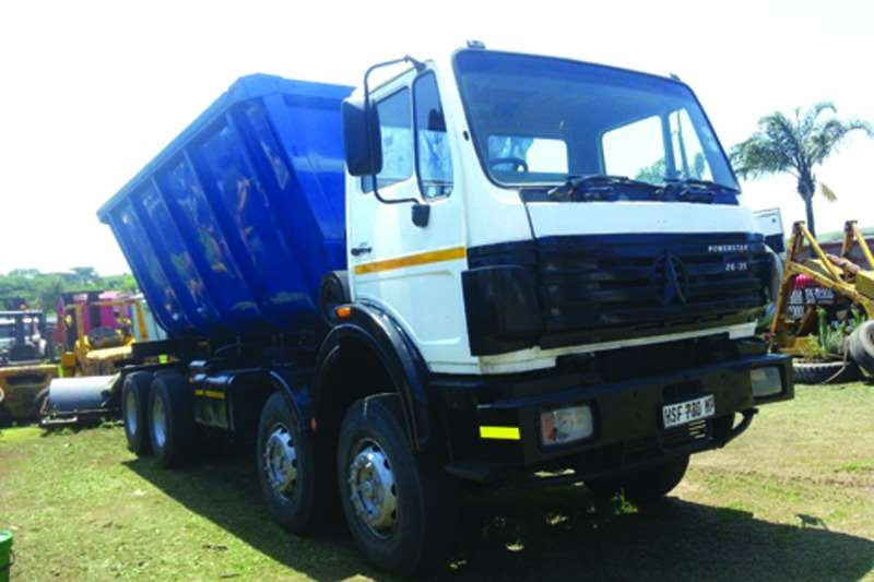 Truck Powerstar Tipper 2635 2008