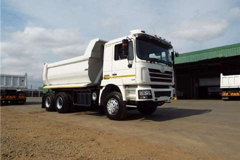 Powerstar Tipper Powerland 3034 6x4 12m3 Truck