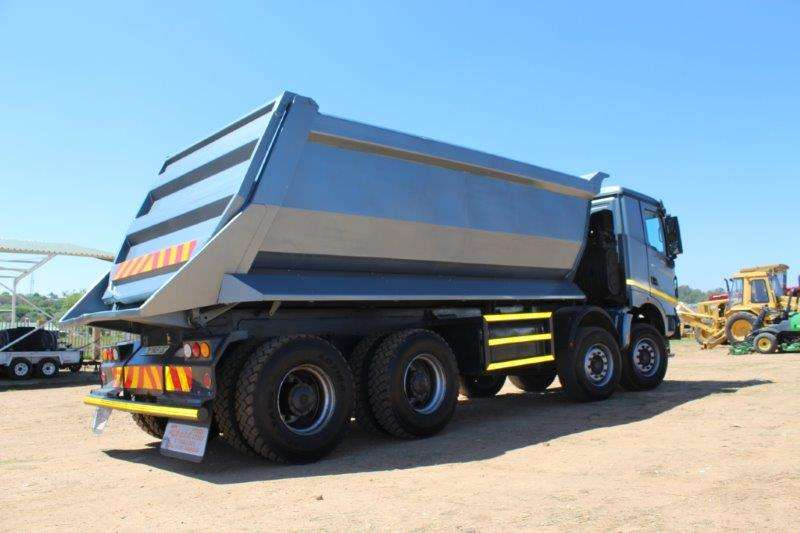 Powerstar Tipper POWERSTAR 4035 TWIN STEERN TIPPER Truck