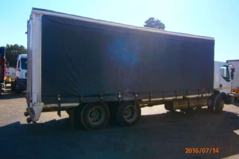 Renault Curtain side Midlum 270DCI Truck