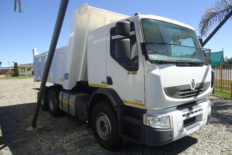 Renault Tipper PREMUIM LANDER 380 TIPPER 10 CUB Truck