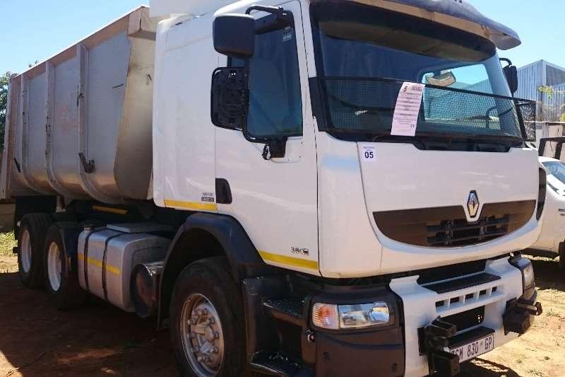 Truck Renault Tipper Renault Premium Lander 15m3 Tipper 2010