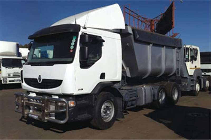 Renault Tipper Renaults 380#39;s DXi Truck