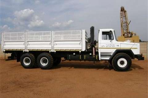 Samag 120 Dropside with Crane ( Truck