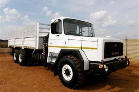 Samag Dropside 120 Dropside with Crane Truck
