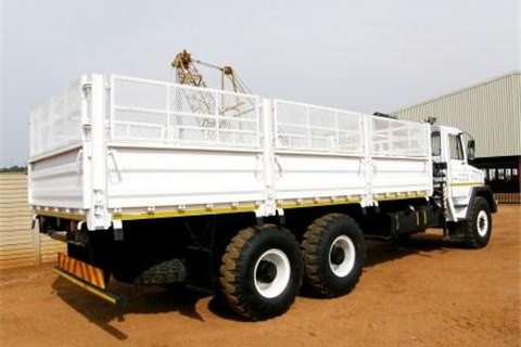 Samag Samil 120 Dropside with Crane Truck