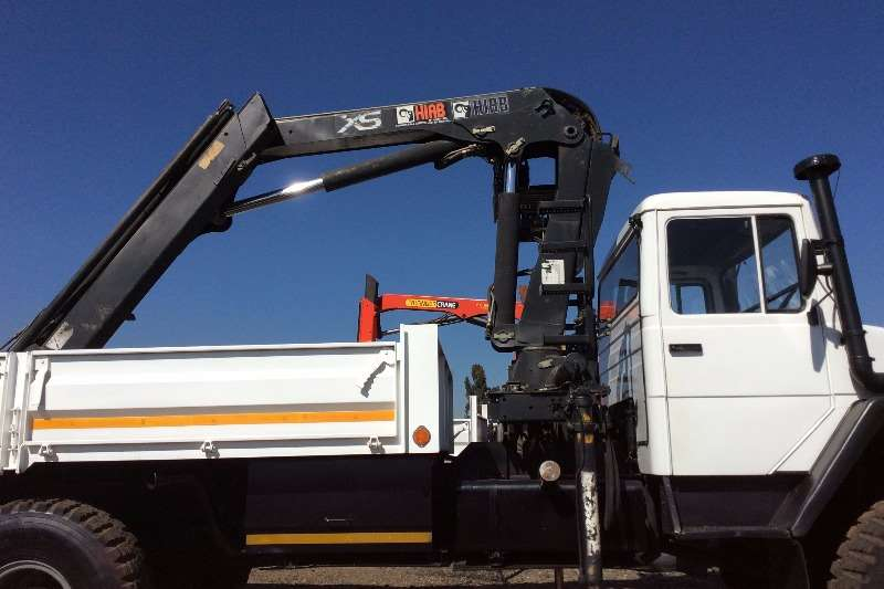 Samil Crane truck Samil 50 MK1 Dropsides with Crane Truck