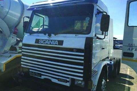 Truck Scania 143E 450 6x4 T/T- 1995
