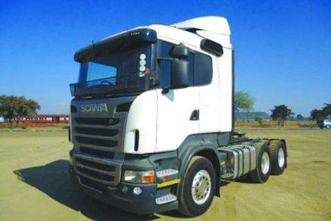 Scania 1x R 470- Truck