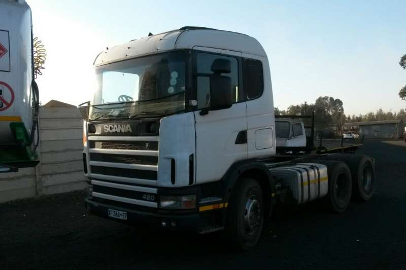 Truck Scania Chassis Cab 420 2003
