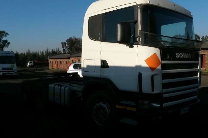 Truck Scania Chassis Cab 420 Truck 2002