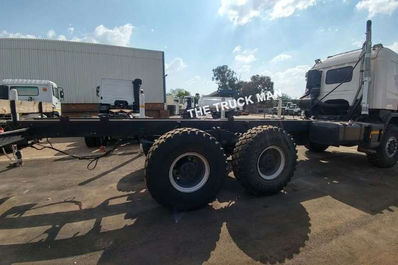 Scania Chassis cab P410 6X6 Truck