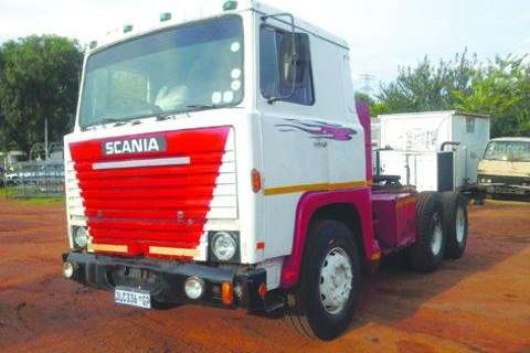 Scania D/Diff Mechanical Horse V8 Motor- Truck