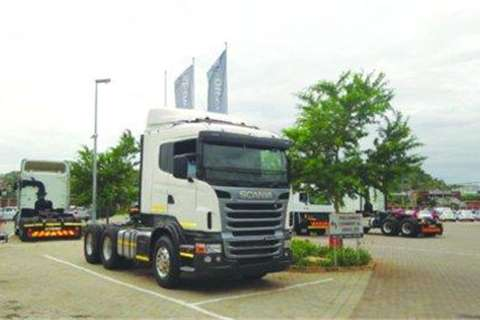 Scania R470, 6x4 truck tractor- Truck