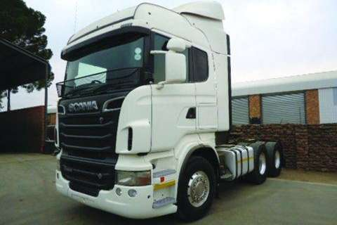 Truck Scania R500 Chassis- 2012