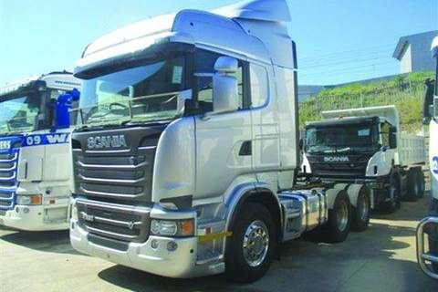 Scania R500 Streamline- Truck