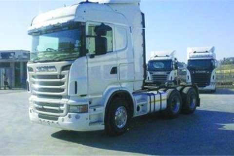 Truck Scania R580- 0