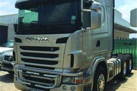 Scania R580- Truck