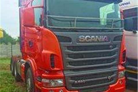 Truck Scania R580 HP 6x4 Truck Tractor- 2012