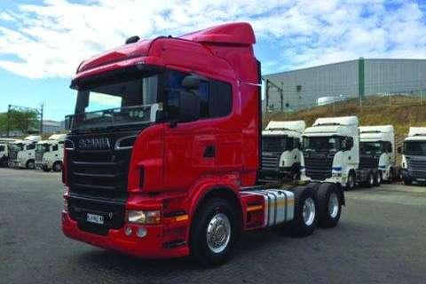 Scania Scania R580 HP 6x4 TT- Truck