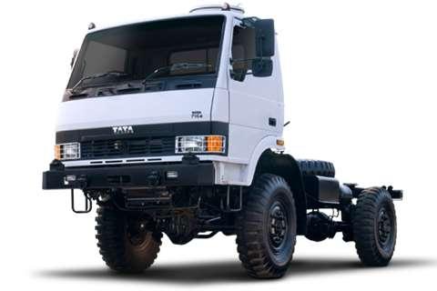 Tata Chassis cab LPTA 713 (4.5 Ton 4X4) Truck