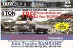 Truck Tata Dropside LPT 1518 , 8 Ton , Free Dropside , New 2017