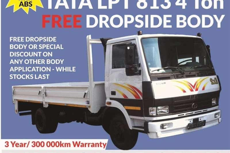 Truck Tata Dropside LPt 813 , 4 Ton , Free Dropside , New 2017