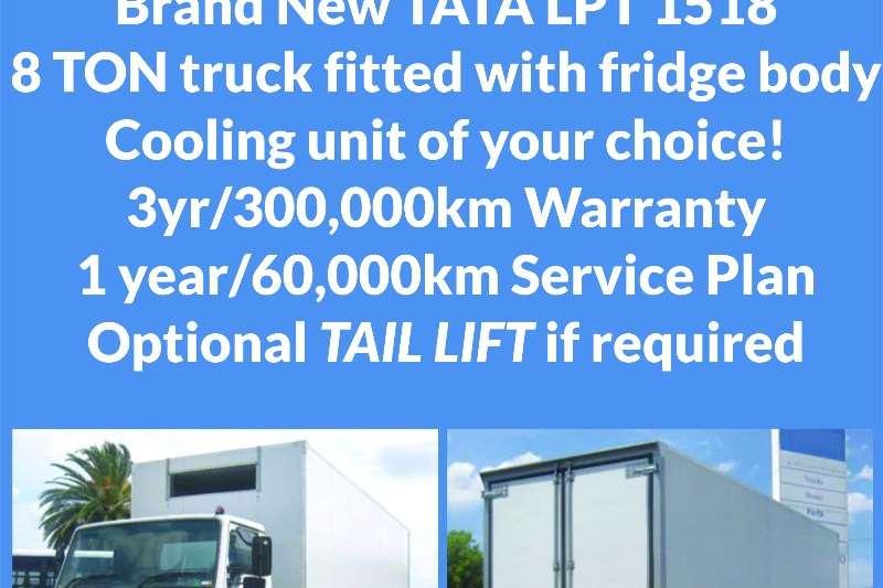 Truck Tata Fridge Truck LPT 1518 , 8 Ton , Fridge Truck , New 2017